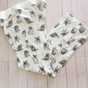 PJ Salvage Dog Pajama Bottoms Size Small